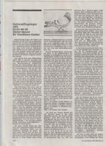 Artykuł o Dieter Meyer z Tauben Markt (nr 11/2001)